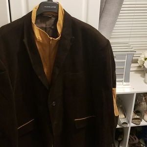 Other - Corduroy brown and tan blazer